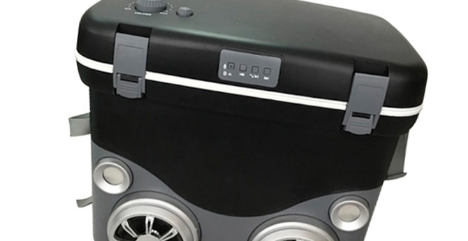 Bluetooth cooler box ( 6 cans)