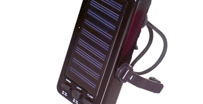 AM FM dynamo solar radio with light